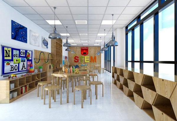 Trường Tiểu học Sunshine Maple Bear có hệ thống các phòng chức năng đạt tiêu chuẩn dành riêng cho các hoạt động ngoại khóa và trải nghiệm
